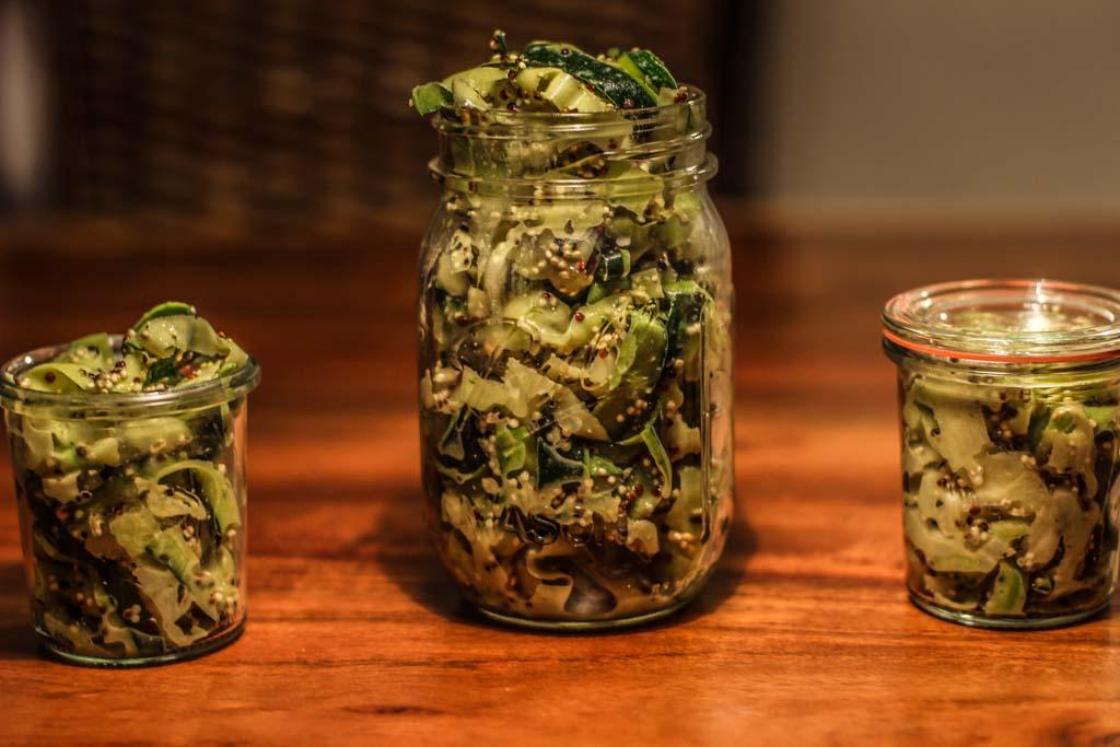 Quinoa Zucchini Salat
