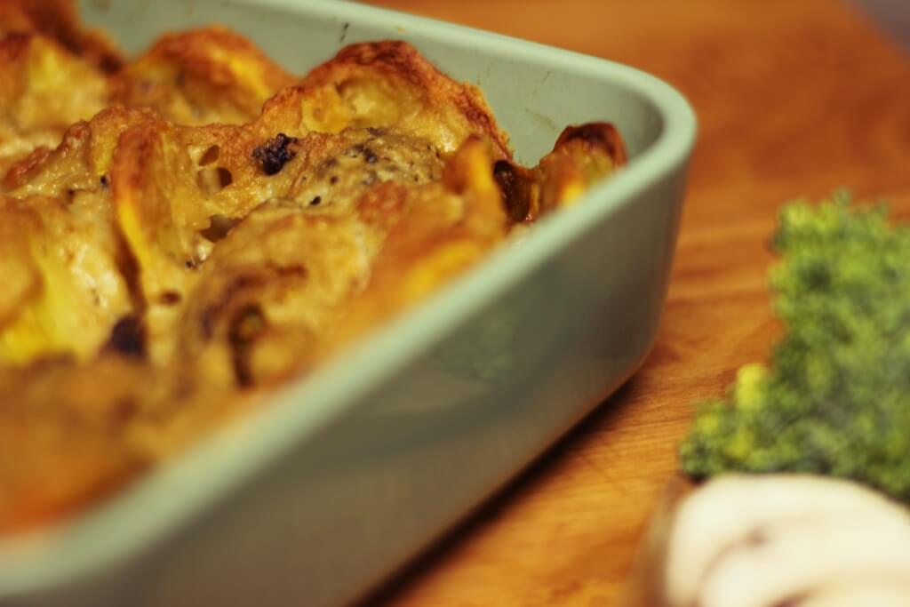 schmackhafter Brokkolie Kartoffel Auflauf
