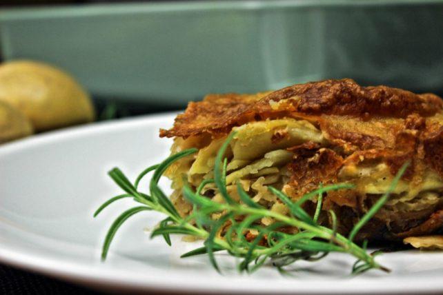 Kartoffel Sauerkraut Auflauf