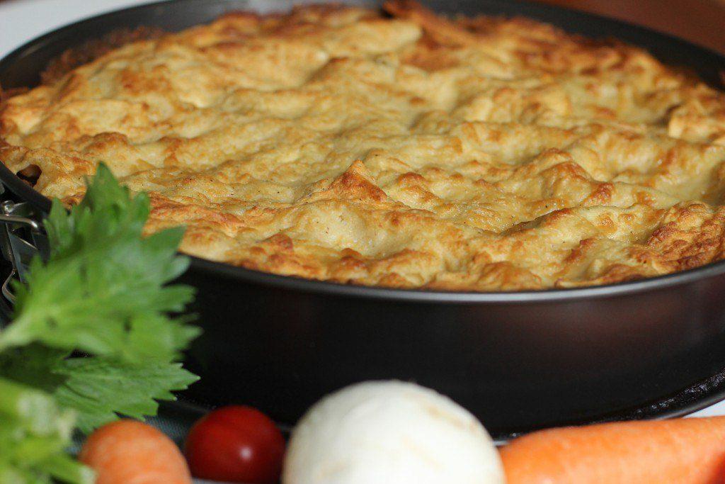 Lasagne mit Sojahack